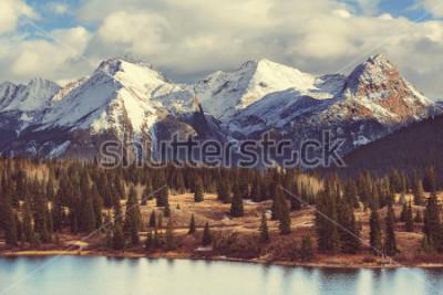 Canvastavlor Berglandskap i Colorado Rocky Mountains, Colorado, USA.