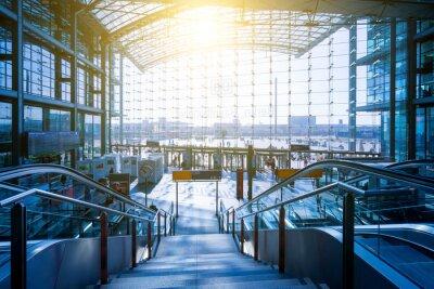 Canvastavlor Berlin Hauptbahnhof