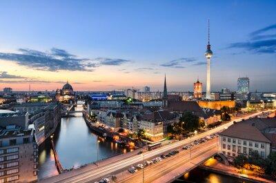 Canvastavlor Berlin horisont panorama