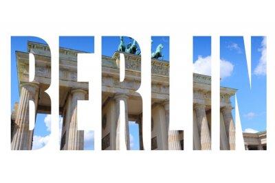 Canvastavlor Berlin ortsnamn