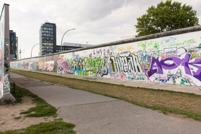 Canvastavlor Berlino - East Side Gallery