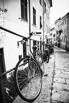 Canvastavlor Biciclette nel vicolo