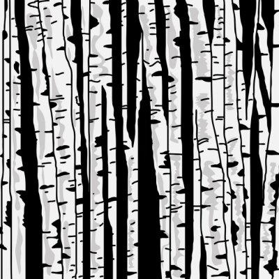 Canvastavlor Björk tre för du designar