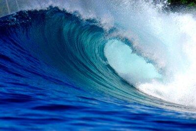 Canvastavlor Blå havet surfing