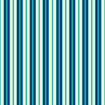 Canvastavlor Blå linjer mönster