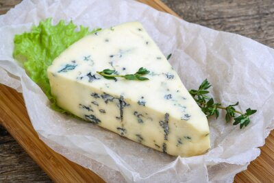Canvastavlor Blå ost