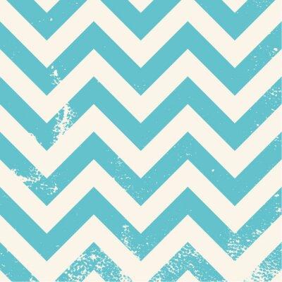 Canvastavlor blå sparremönster med bekymrad struktur