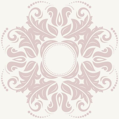 Canvastavlor Blommor abstrakt mönster