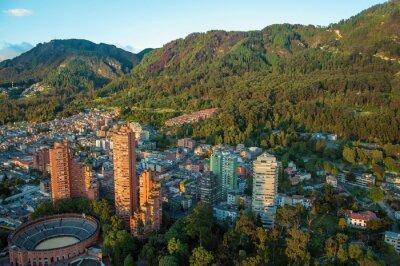 Canvastavlor Bogota och Anderna