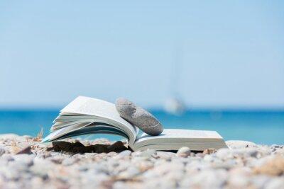 Canvastavlor Bok på stranden