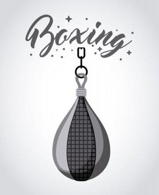 Canvastavlor boxning sportdesign