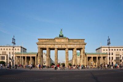 Canvastavlor Brandenburger Tor, Berlin, Tyskland