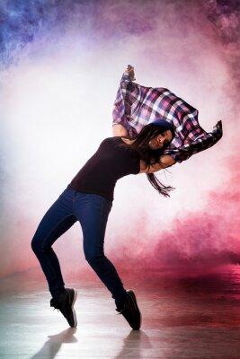 Canvastavlor broms Dancer