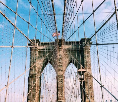 Canvastavlor Brooklyn Bridge