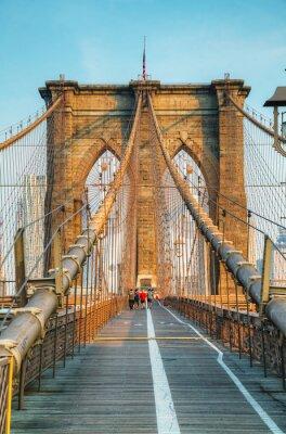 Canvastavlor Brooklyn Bridge i New York City