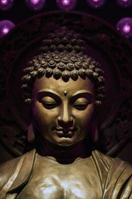 Canvastavlor buddha Staty
