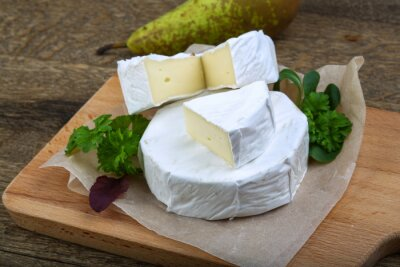 Canvastavlor camembert ost