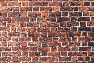 Canvastavlor Cegła mur Gotyk tekstura