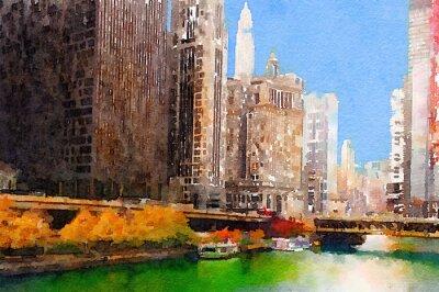 Canvastavlor chicago