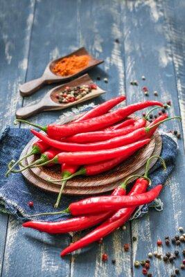 Canvastavlor chili
