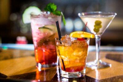 Canvastavlor cocktails