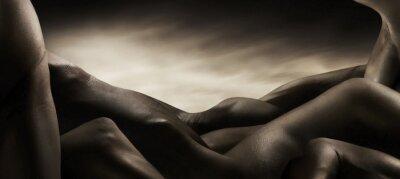 Canvastavlor corpi di nudo artistico