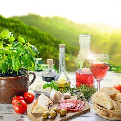 Canvastavlor Cucina Italiana