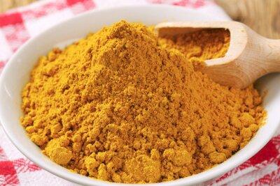 Canvastavlor curry pulver