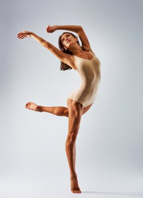 Canvastavlor dansare ballerina