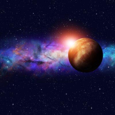 Canvastavlor Deep Space Starfield