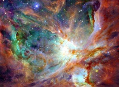 Canvastavlor Delar av denna bild som tillhandahålls av NASA.