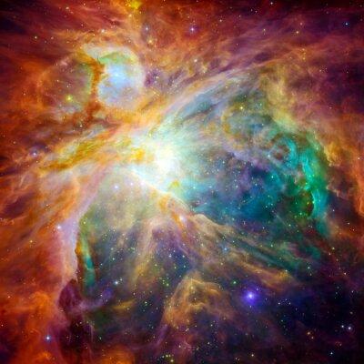 Canvastavlor Den kosmiska moln kallas Orion Nebula