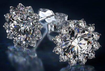 Canvastavlor Diamond Örhängen