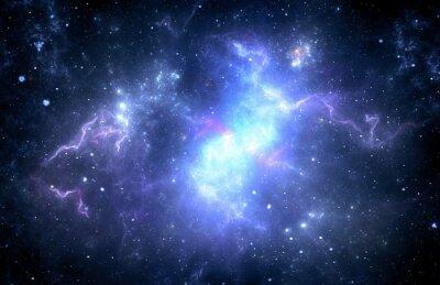 Canvastavlor Djupt nebulaavståndsuniversum