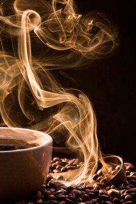 Canvastavlor Doften av god Coffee från en kopp