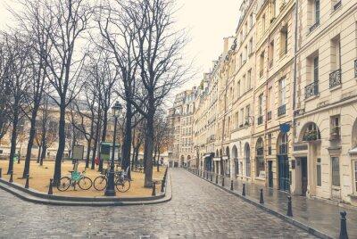 Canvastavlor Dyster dag i Paris