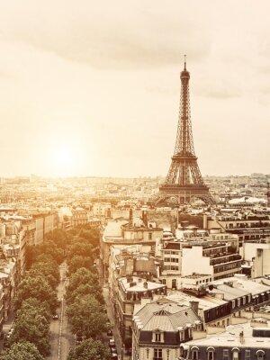 Canvastavlor Eiffel från Triumfbågen