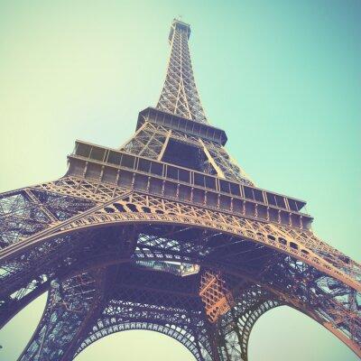 Canvastavlor Eiffeltornet