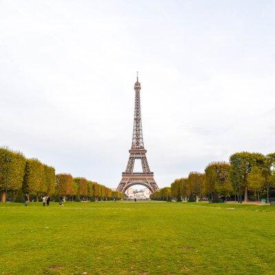 Canvastavlor Eiffeltornet i Paris, Frankrike