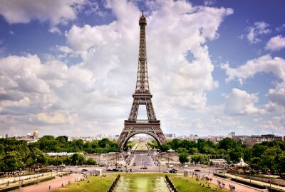 Canvastavlor Eiffeltornet, Paris