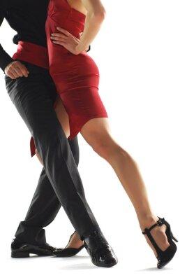 Canvastavlor elegnace tango dansare