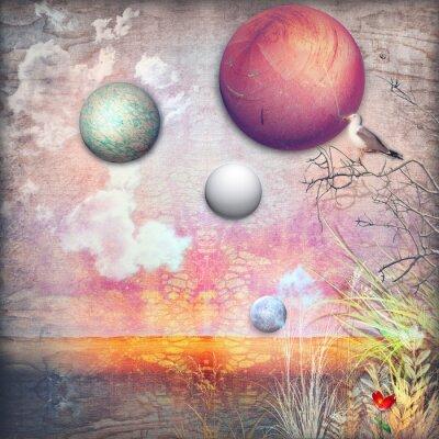 Canvastavlor Enchanted landsbygden serie