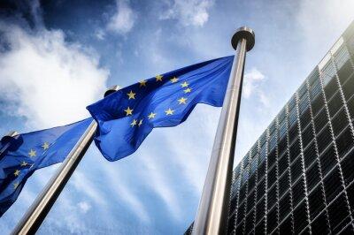 Canvastavlor EU flaggor