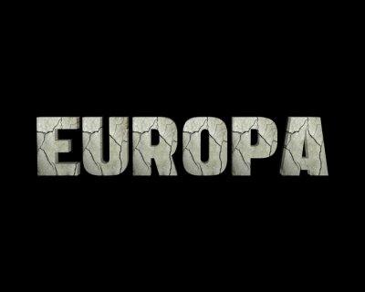Canvastavlor Europa 3d vört