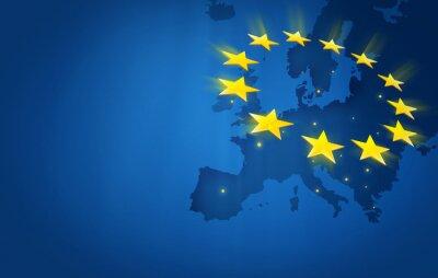 Canvastavlor Europa