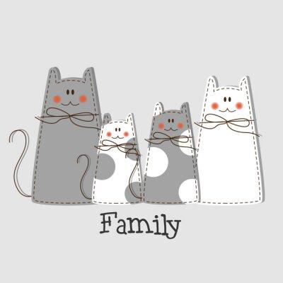 Canvastavlor Familjebakgrund