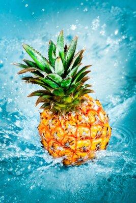 Canvastavlor färsk ananas