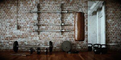 Canvastavlor fitness