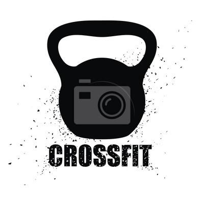 Canvastavlor Fitness design.