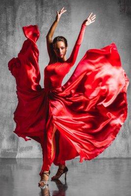 Canvastavlor flamencodansare